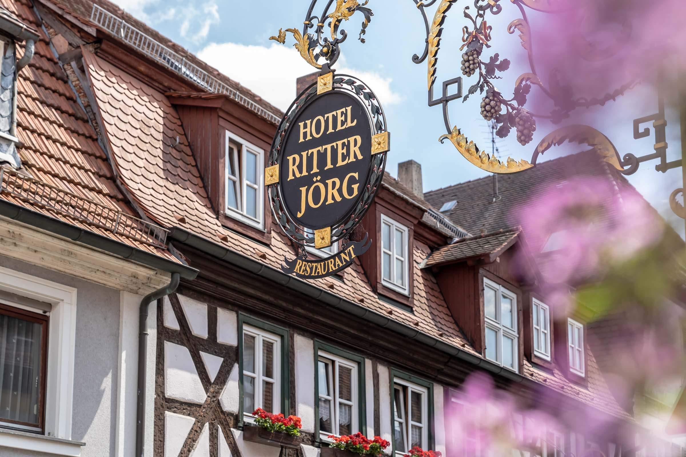 Hotel & Restaurant Ritter Jörg Sommerhausen